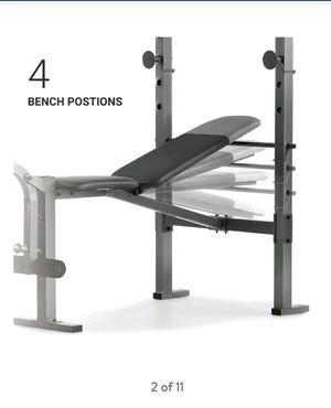 Brand new weight bench and rack for Sale in Hemet, CA