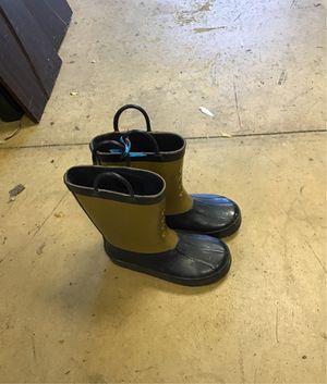 Youth rain boots size 10 for Sale in Matawan, NJ