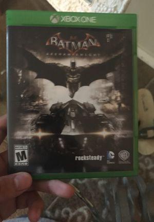Batman Arkham knight Xbox one for Sale in Snohomish, WA