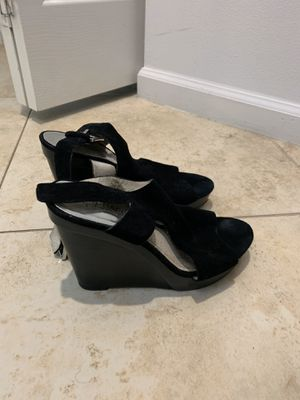 Suede Michael Kors Wedges-size 8 for Sale in Coral Springs, FL