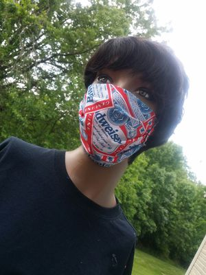 Budweiser Face Mask 3 for Sale in Windsor Mill, MD