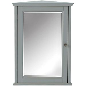 Home Decorators Collection Hamilton 27 in. H x 20 in. W Corner Wall Cabinet in Grey for Sale in Columbus, OH