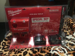 Milwaukee cambo xc4.0 two battery for Sale in Bakersfield, CA