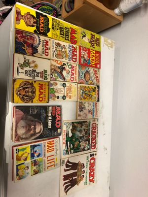 Lot of 17 mad magazine books for Sale in McKinney, TX