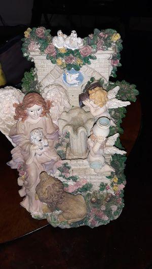 Ceramic angel fountain for Sale in Zephyrhills, FL