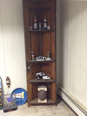 Wooden corner shelf for Sale in Lansdale, PA