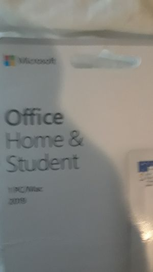 OFFICE HOME & STUDENT 1 PC/ MAC 2019 for Sale in San Francisco, CA