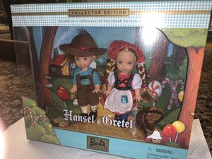 "BARBIE ""STORYBOOK COLLECTION"" TOMMY & KELLY AS HANSEL AND GRETEL - NRFB for Sale in Fontana, CA"