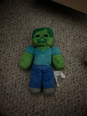 Minecraft Plushies for Sale in Streamwood, IL