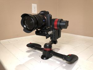 WenPod MD2 Professional 3-Axis Gimbal Stabilizer Lightly used excellent conditio for Sale in Tujunga, CA