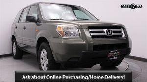 2007 Honda Pilot LX LX 4dr SUV for Sale in Tacoma, WA