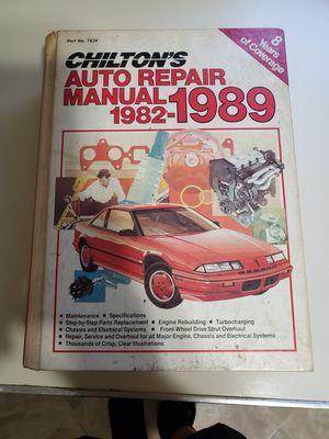Chilton car repair manual for Sale in Ridgefield, CT