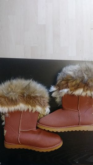 Fur boots Asymmetrical for Sale in Norcross, GA