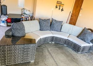 Half Moon Outside Sectional 🌙 for Sale in Phoenix, AZ