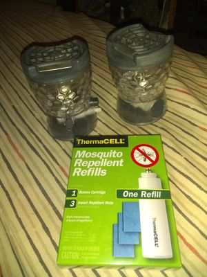 ThermaCell Lanterns And 1 Refill for Sale in Geneva, FL