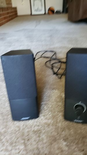 Bose computer speakers for Sale in Lawton, OK