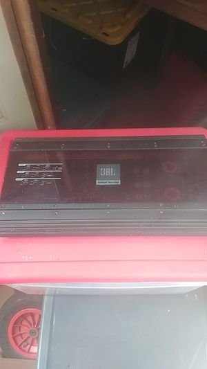 JBL Grand Touring 5 Channel car amplifier for Sale in Denver, CO