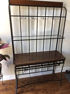 Baker's/Wine Rack w/ Shelves for Sale in Philadelphia, PA