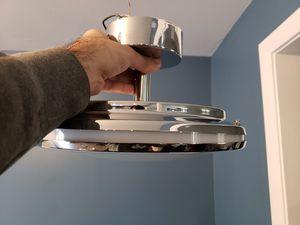 2 Kichler LED Chrome Semi Flush Mount lights for Sale in Annandale, VA