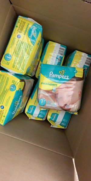 200 Pampers Diapers for Sale in McKinney, TX