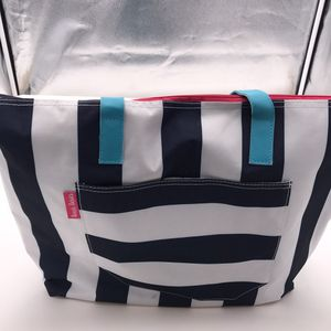 Stripe tote bag new blue/white for Sale in Los Angeles, CA