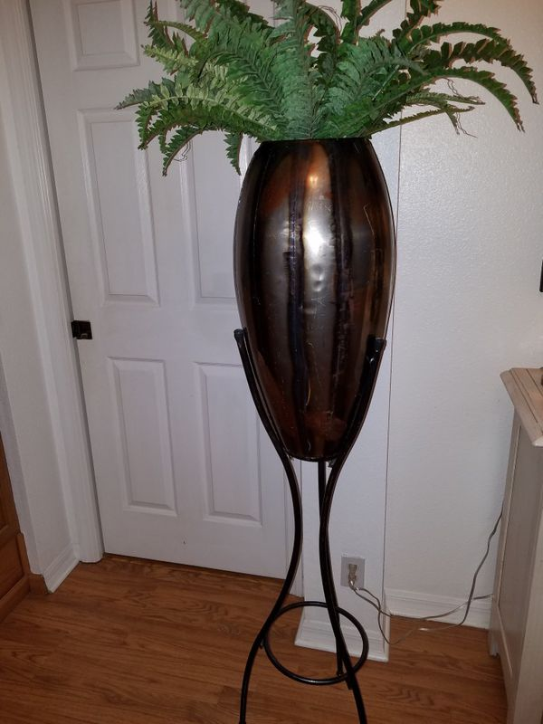 Tall Metal Plant Stand Decorative Home Decor