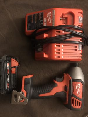 Milwaukee impact drill for Sale in Oklahoma City, OK