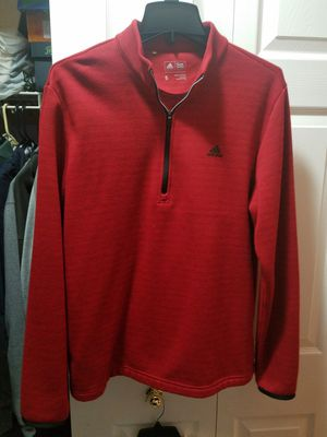 Red Adidas half zip fleece ,grenn hoodie for Sale in Willow Springs, IL