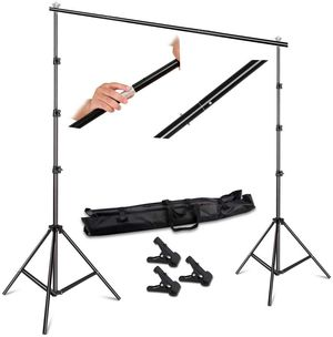 SH 7.5 x 10 feet Photography Backdrop Kit for Sale in Los Angeles, CA