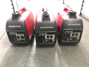 5 Honda generators dos sale read my information pleas diferent price for Sale in Newport Beach, CA