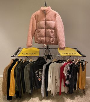 FOREVER 21 CLOTHES/JACKETS BUNDLE Size Small for Sale in Hayward, CA