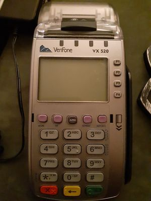 Verifone credit card and receipt for Sale in Mitchell, IL