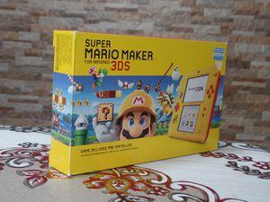 Nintendo 2DS Super Mario Maker Edition (w/ Super Mario Maker for 3DS (Pre-Installed))   2DS   for Sale in Aurora, IL