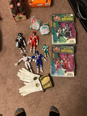 90s power rangers collection for Sale in Olympia, WA