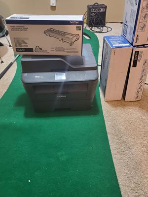 Brother printer mfc-L2740DW and 4 toner cartridges TN-630 for Sale in Highland, NY