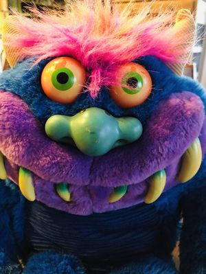 2001 My Pet Monster Plush Doll Vintage Blue Monster No Sound for Sale in Rancho Cucamonga, CA