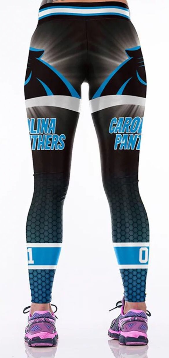 ee7275b4 WOMENS CAROLINA PANTHERS GAMEDAY LEGGINGS/TIGHTS for Sale in Belmont, NC -  OfferUp
