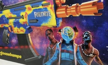Cactus Jack (Travis Scott) x Fortnite x Nerf Gun AR-Goosebumps | NEW for Sale in Springfield,  VA
