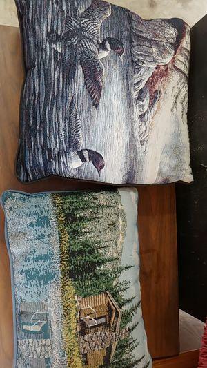 Cabin pillows (2) $10 for both!! for Sale in BRECKNRDG HLS, MO