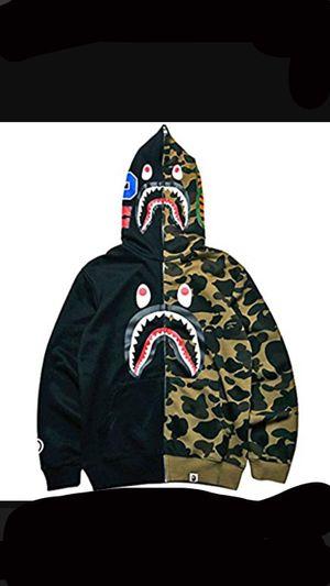 Shark Ape Bape camo mens hoodie for Sale in Monroe, NY