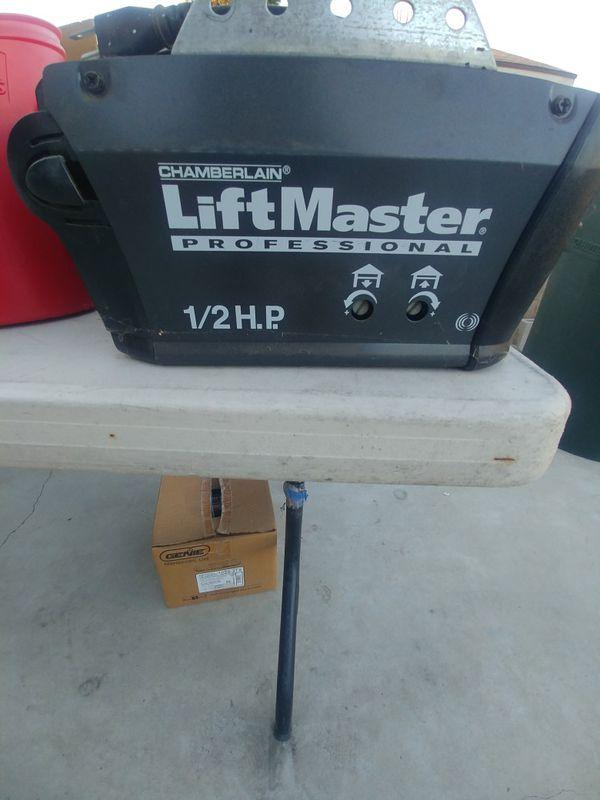 1/2 Up Liftmaster garage door opener