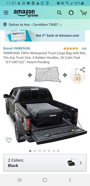 Cargo bag , net is missing for Sale in Carrollton, TX