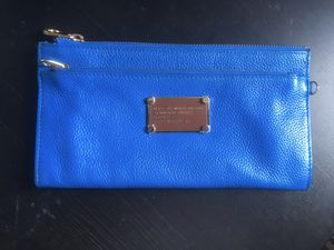 Marc Jacobs wristlet wallet cobalt blue Dodgers Kors coach kate spade for Sale in Pasadena, CA