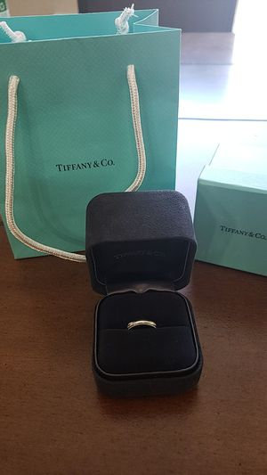 Genuine Tiffany and Company platinum ring for Sale in Parker, CO