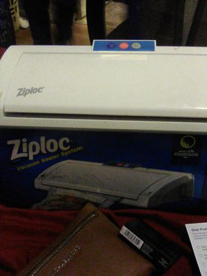 Ziploc vacuum sealer system for Sale in Fayetteville, NC