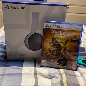 PS5 Headset and Mortal Kombat 11 Ultimate for Sale in Philadelphia, PA