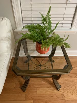 Set of 2 Coffee tables glass tables for Sale in Bedford Park, IL