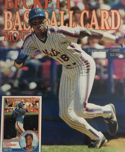 Beckett September 1988 issue # 42, Front Cover Darryl Strawberry, Back Cover Sabo & Bonilla for Sale in Boston,  MA