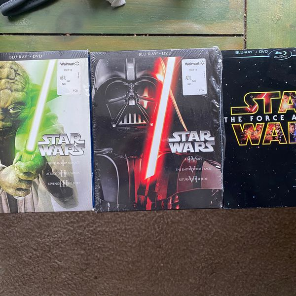 Star Wars DVD Blu-Ray Bundle