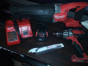 Sawzall and drill for Sale in Banning, CA